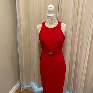 NWT Red Bebe Dress